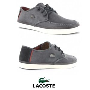 Lacoste Servin 4 Sneakers in grey and navy